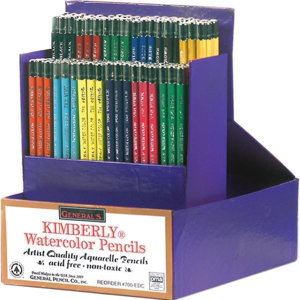 Kimberly Watercolor Pencils Classroom Art Packs -
