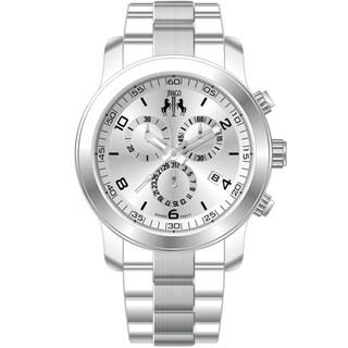 Jivago Women's 'Infinity' Silvertone Watch