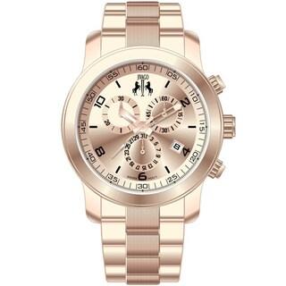 Jivago Women's 'Infinity' Rose Goldtone Chronograph Watch