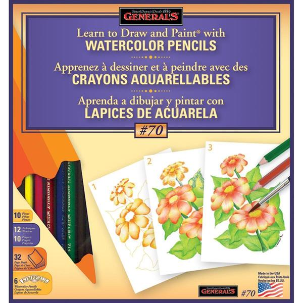 Learn To Draw And Paint With Watercolor Pencils -