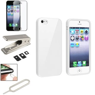 BasAcc Case/ LCD Protector/ SIM Card Cutter for Apple iPhone 5