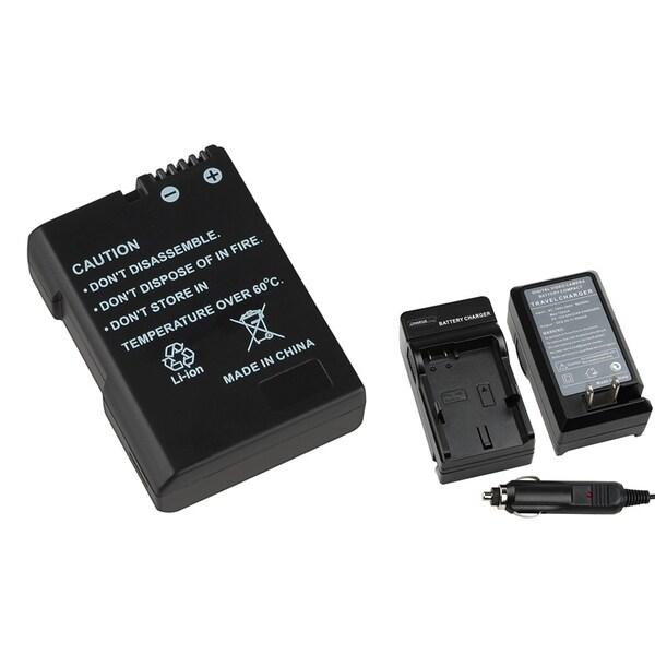 BasAcc Charger/ Battery Set for Nikon EN-EL14