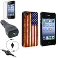 BasAcc Case/ LCD Protector/ Audio Cable for Apple iPhone 4/ 4S