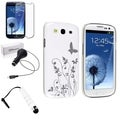 BasAcc Case/ LCD Protector/ Car Charger/ Stylus for Samsung Galaxy S3