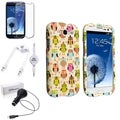 BasAcc Case/ LCD Protector/ Car Charger for Samsung Galaxy S3