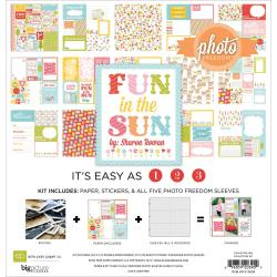 Photo Freedom Fun In The Sun Collection Kit 12 X12 -