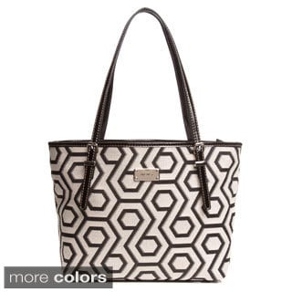 Nine West 'Hex 9 It Girl' Cotton Small Shopper