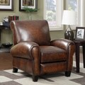 At Home Designs Carmel Recliner in Tarnished Copper