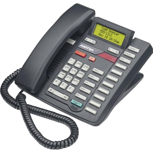 Aastra Classic 9316CW Standard Phone - Ash