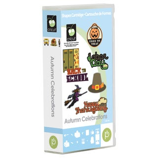 Cricut Autumn Celebration Cartridge