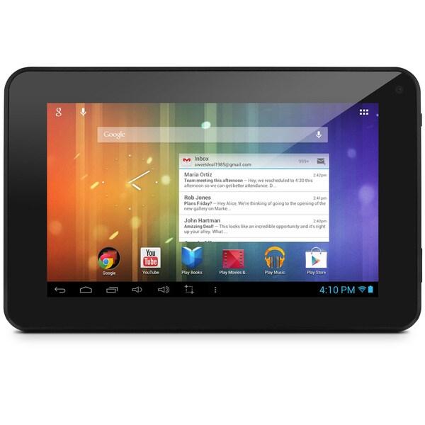 """Ematic EM63 4 GB Tablet - 7"""" - 1.60 GHz - Black"""