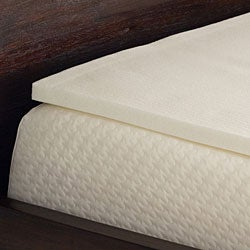 Comfort Dreams 1-inch Antimicrobial Memory Foam Mattress Topper