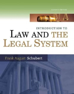 Introduction to Law and the Legal System (Hardcover)