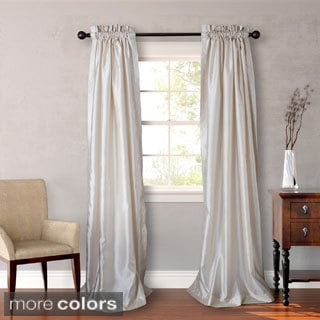Heritage Landing 84-Inch Faux Silk Lined Drape Pair