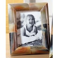 Authentic 5x7-inch Hand-carved Horn Photo Frame