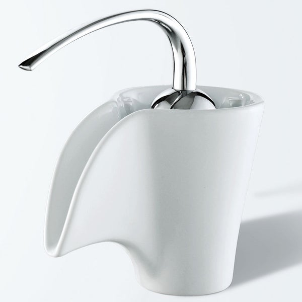 Elite Ceramic Spout Single Hook Lever Chrome Handle Faucet