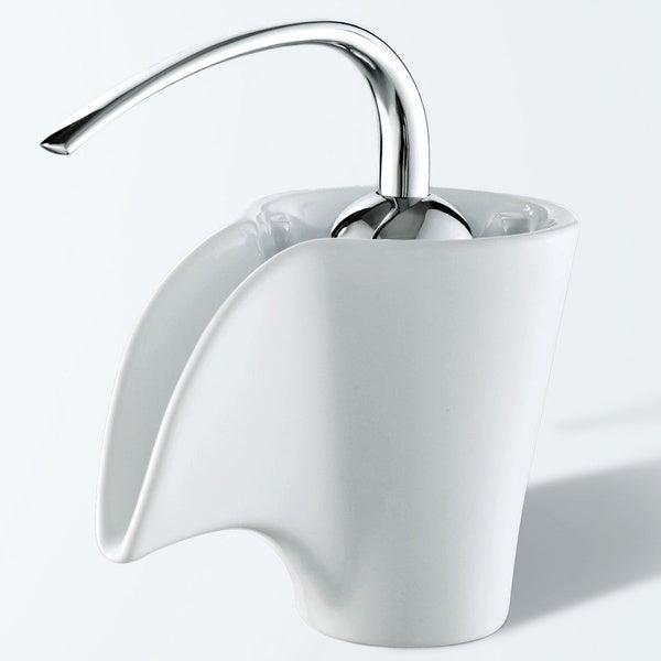 Elite Ceramic Spout Single Hook Lever Chrome Handle Faucet