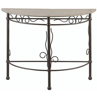 Alpine Blacksmith Console Table