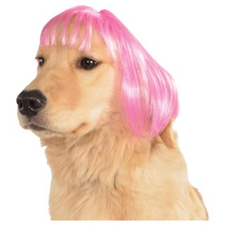 Rubies Short Bob Wig Pet Costume