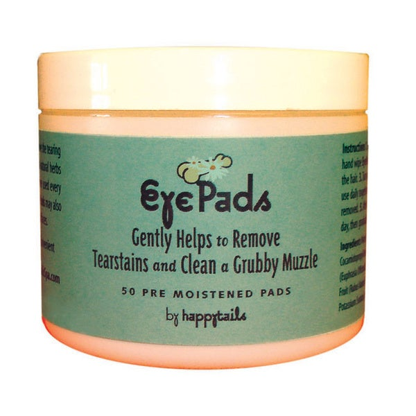 Happytails Antibacterial Eye Pads for Dogs
