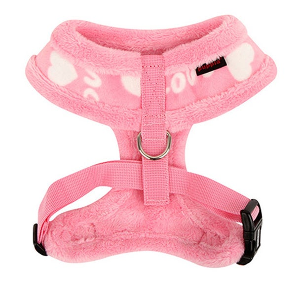 Puppia Pink Love Junior Harness