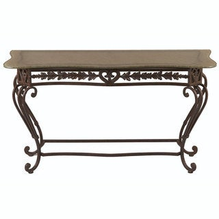 Passion Bronze Oro Console Table | Overstock.com Shopping - The ...