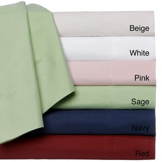 Wrinkle Free Solid Sheet Set