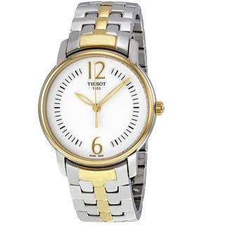 Tissot Women's Round T-trend 2-tone Watch
