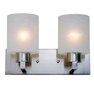 Cobalt Brushed Nickel 2-light Vanity Pendant