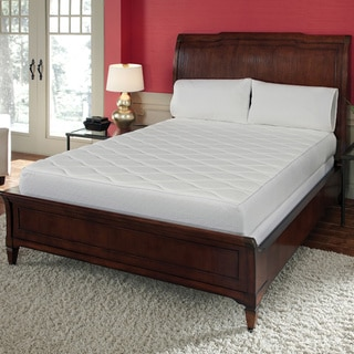 Quilted Top 10-inch California King-size Memory Foam Mattress with Removable Cover