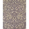 Serra Hourglass Purple Area Rug (8' x 11')