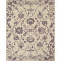 Serra Ivy Purple Area Rug (5' x 8')