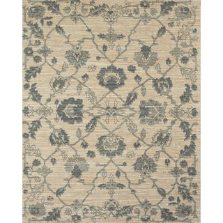 Serra Ivy Grey Area Rug (5' x 8')