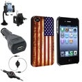 BasAcc Case/ Audio Cable/ Mount/ Car Charger for Apple iPhone 4/ 4S
