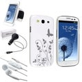 BasAcc Case Set/ Car Charger/ Headset for Samsung Galaxy S3