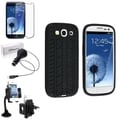 BasAcc Case/ LCD Protector/ Windshield Holder for Samsung Galaxy S3