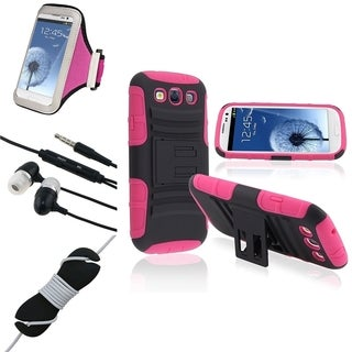 BasAcc Case Set/ Headset/ Wrap for Samsung Galaxy S3