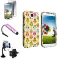 BasAcc Case/ LCD Protector/ Windshield Mount for Samsung Galaxy S4