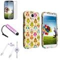 BasAcc Case/ LCD Protector/ Audio Cable/ Stylus for Samsung Galaxy S4