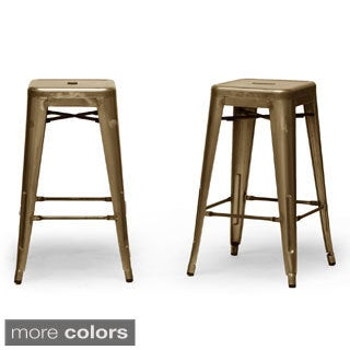 French Industrial Modern Counter Stool