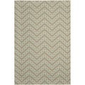 Safavieh Indoor/ Outdoor Hampton Light Blue/ Ivory Area Rug (8' x 11')