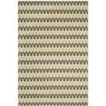 Safavieh Indoor/ Outdoor Hampton Light Blue/ Green Rug (5'1 x 7'7)
