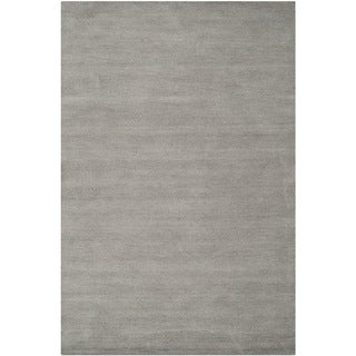 Safavieh Hand-loomed Himalaya Grey Wool Rug (3' x 5')
