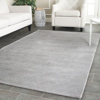 Safavieh Hand-loomed Himalaya Grey Wool Rug (8' x 10')