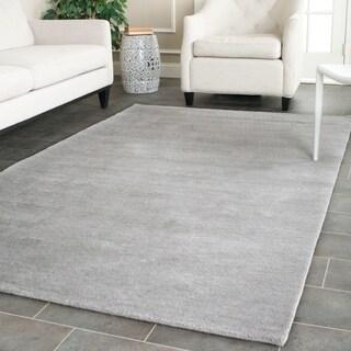 Safavieh Hand-loomed Himalaya Grey Wool Rug (9' x 12')