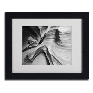 Moises Levy 'Snake Canyon' Framed Matted Art