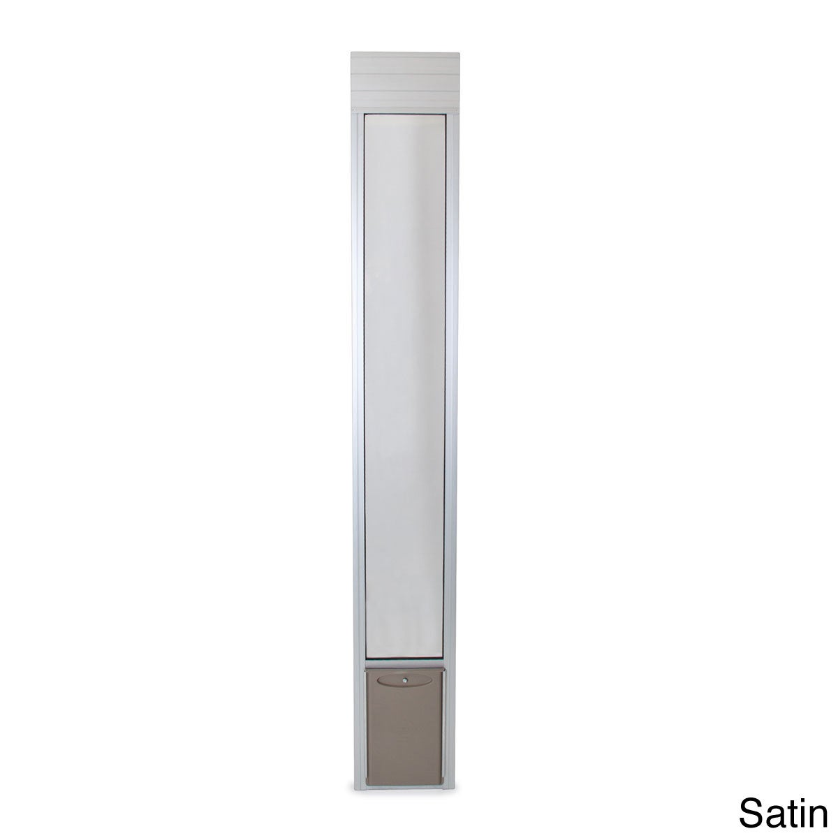 1200 #61564F PetSafe Freedom Patio Aluminum Panel Pet Door Overstock Shopping  pic Overstock Patio Doors 35611200