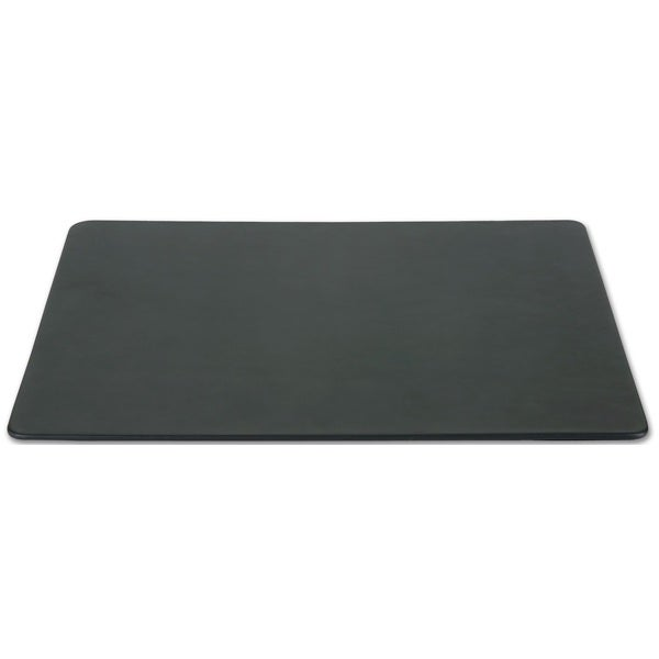 """Black Bonded Leather Conference Table Pad (17""""x14"""")"""