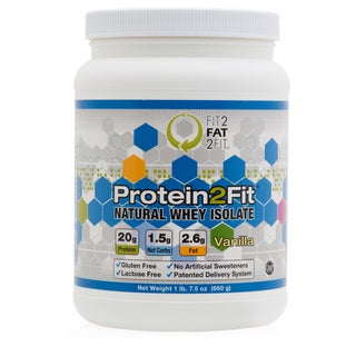 Protein2Fit All-Natural Men's Whey Protein