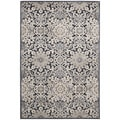kathy ireland Home Bel Air Charcoal Rug (4'11 x 7')